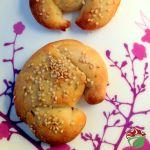 Cornetto di pane ai ceci