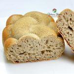 Treccia di pane al grano saraceno