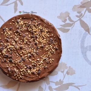 Crostata al cacao con ganache al gianduia